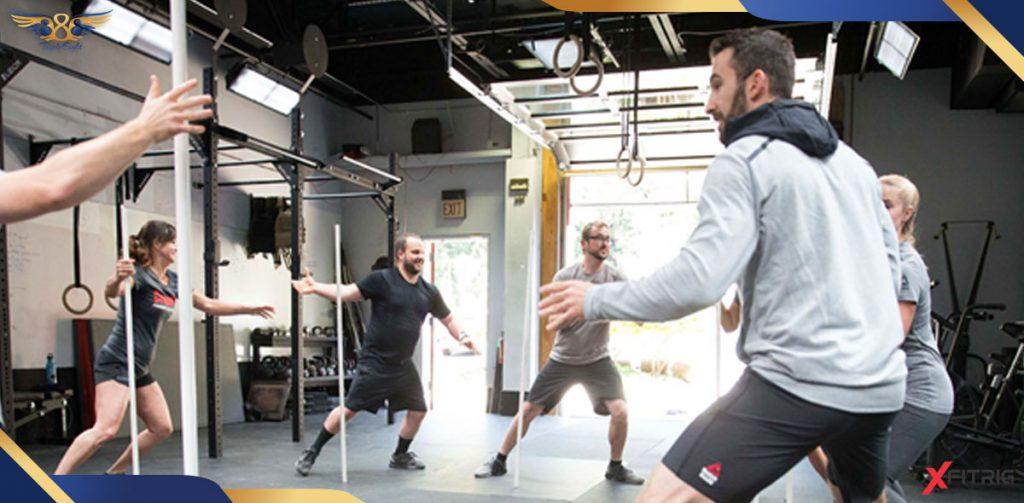 ورزش کراسفیت برای لاغری