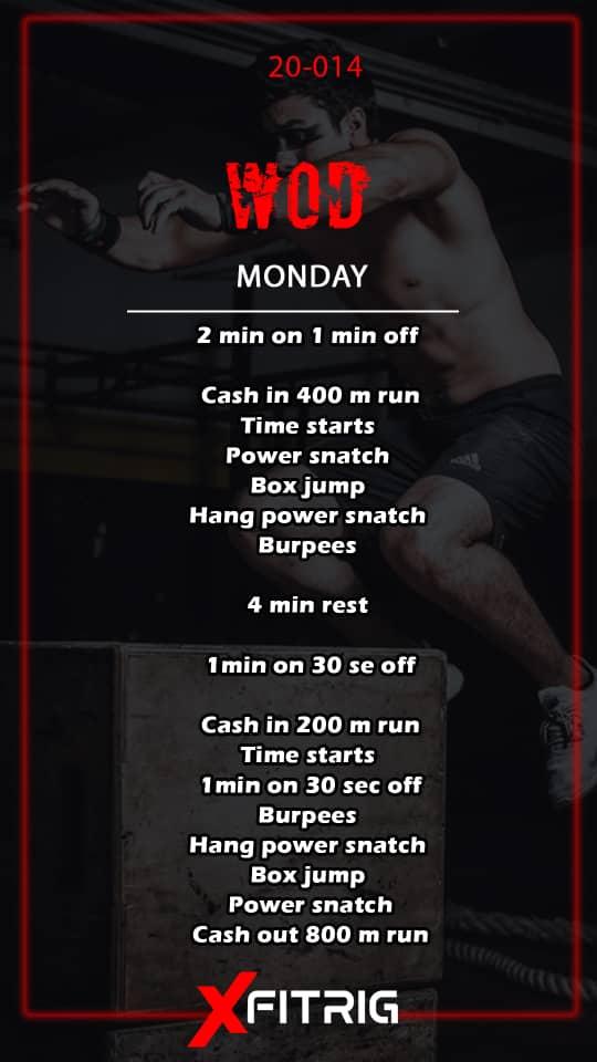برنامه روزانه (دوشنبه)