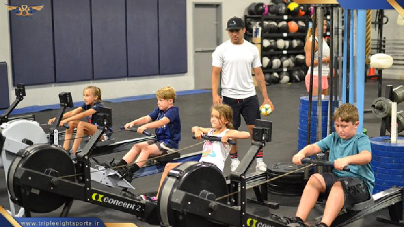 کراسفیت کودکان سیستم های تمرینی اختصاصی برای کودکان طرح ریزی شده است که علاوه بر تمرینات جسمانی بازیهای حرکتی در آنها گنجانده شده