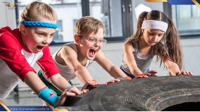 در این سنین به دلیل وابستگی که بین کودکان و والدین وجود دارد ترجیح بر این است که کودکان مدت زمان زیادی از والدین جدا نشوند و یا اینکه در کنار والدین به ورزش بپردازند