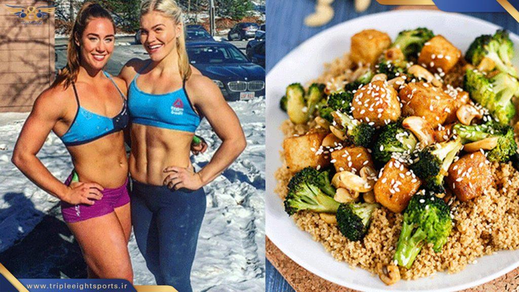 رژیم غذایی زون و تاثیر آن بر عملکرد ورزشکاران رشته کراسفیت