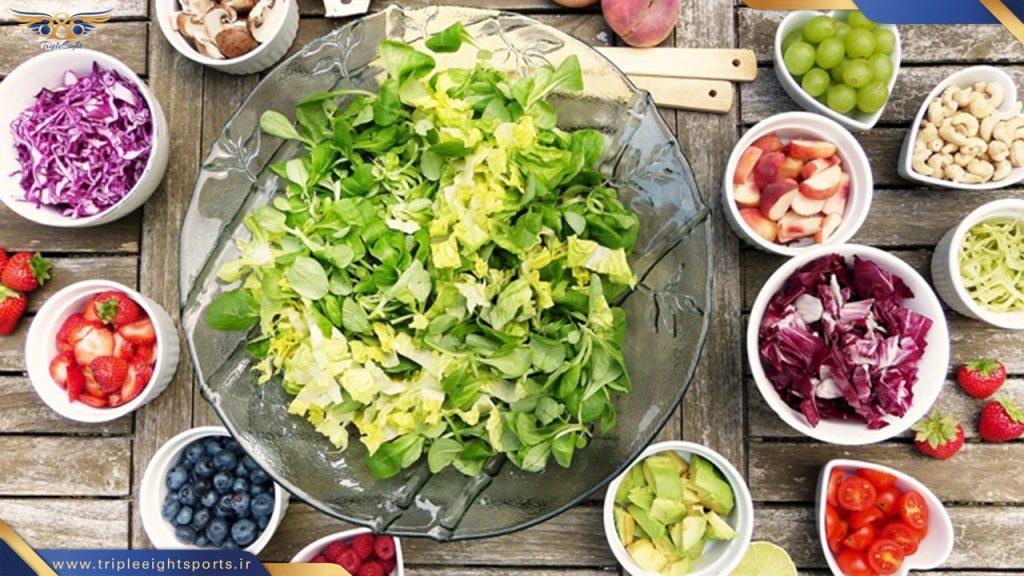تنظیم سطح متابولیسم بدن با مصرف مناسب مواد غذاییی جلوگیری از پیری زودرس
