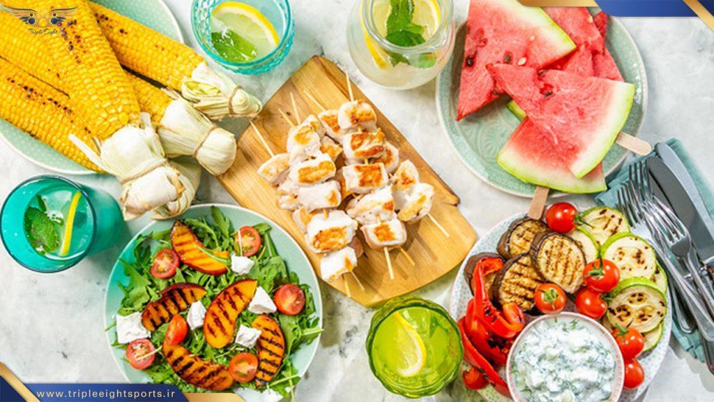 آب بهترین دوست شماست شکر دشمن شماست ماکارونی ، نان ، برنج ، سیب زمینی ، موز ، انگور ، هویج ، ذرت و آرد ممنوع است!